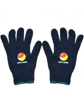 Cotton Knitted Safety Hand Glove